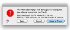 Mac malware explosie blijft uit