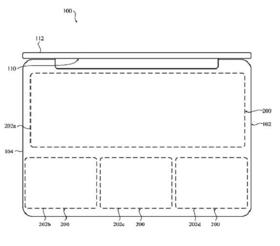 Macbook Apple patent