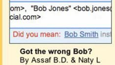 Mail (bijna) altijd de juiste Bob