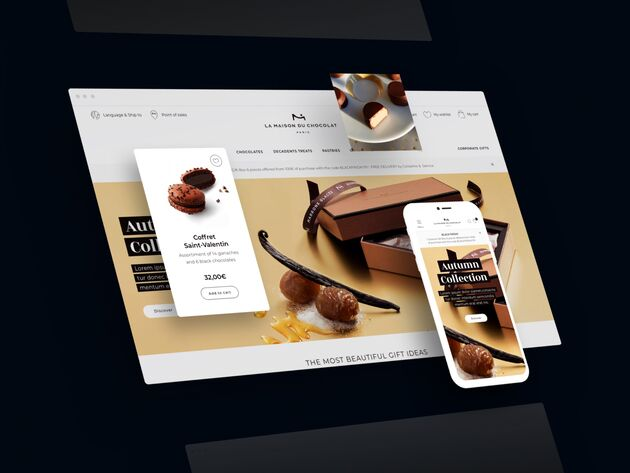 Maison Du Chocolat Example Mobile First Website