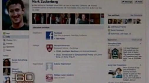 Mark Zuckerberg: nieuwe facebook interface op CBS [UPDATE]