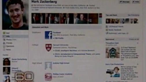 Mark Zuckerberg: nieuwe facebook interface op CBS [UPDATE]