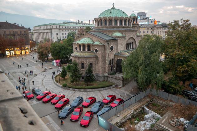 Mazda 3 modellen voor Sveta Nedelyakathedraal