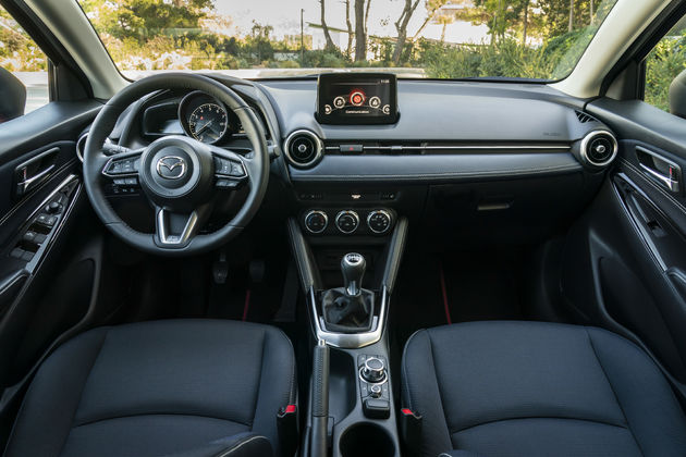 Mazda2 interieur