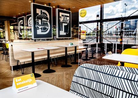 McDonald's interieur_