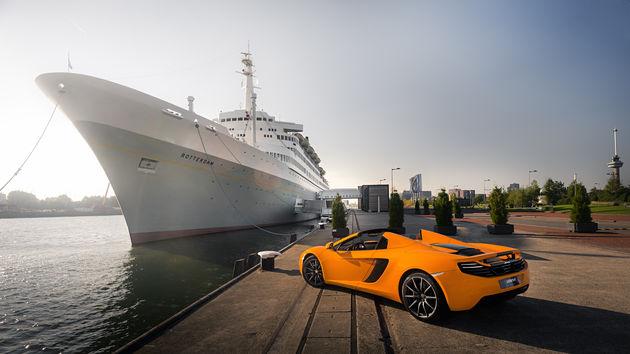 McLaren opent eerste showroom in Nederland
