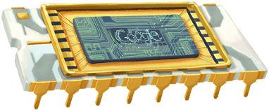 Medeoprichter Intel geëerd met Google Doodle