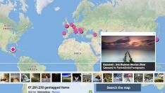 Meer dan 100.000.000 geotagged foto's