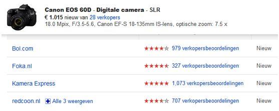 Meet bezoek vanuit Google Shopping in Google Analytics
