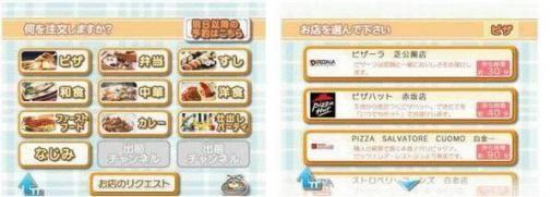 Met de Wii pizza bestellen