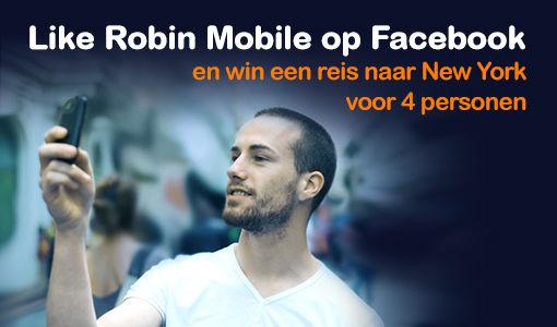 Met Robin Mobile maak je kans op een reis voor 4 personen naar New York [Adv]