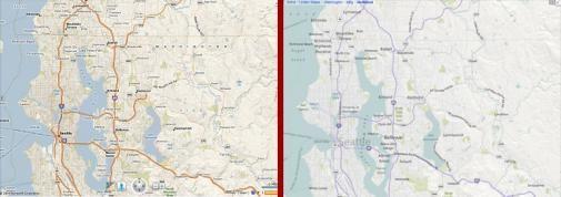 Microsoft komt met nieuwe interface van Bing Maps