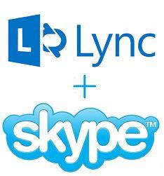 Microsoft koppelt Skype met Lync
