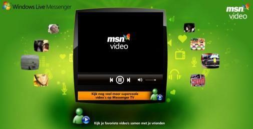 Microsoft lanceert Messenger TV