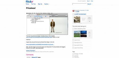Microsoft's campagne gemaakt op Mac