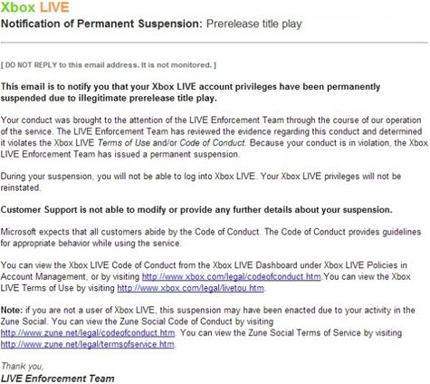 Microsoft straft vroege spelers Halo 4 met Xbox Live-ban