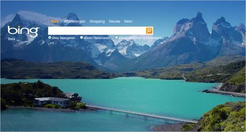 Microsoft zet Bing live