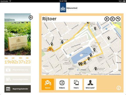 Ministerie van Financiën lanceert Prinsjesdag app