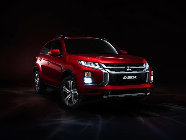 De nieuwe Mitsubishi ASX maakt debuut op de Autosalon Genève