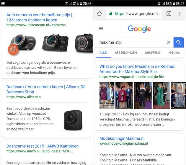mobiele-zoekresultaten-voorbeeld