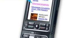 Mobielvriendelijke 'vakantieportal' van 3,5 KB