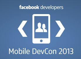 Mobile DevCon voor Facebook-ontwikkelaars