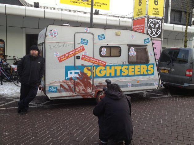 Morgen in de #FFGLBS maak je kans op een caravan van de film Sightseers