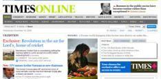 Murdoch zet eerste stap, betalen voor Times Online