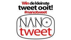 #nanotweet wordt de kleinste tweet ooit