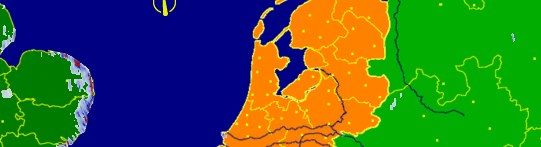 Nederland kleurt oranje