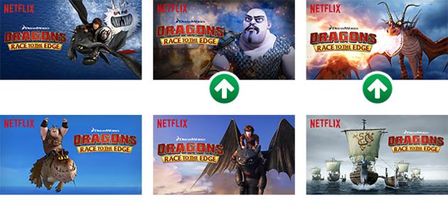 Netflix thumbnail verschillen boeven en helden