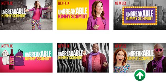 Netflix thumbnails voorbeeld 1