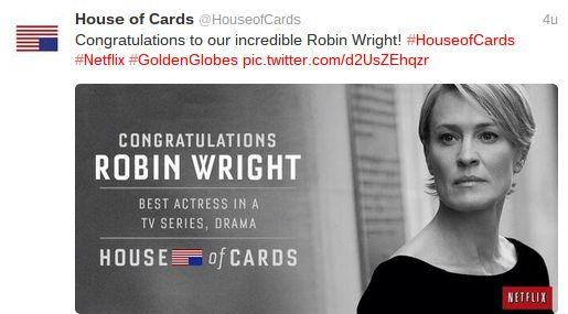 Netflix wint eerste Golden Globe