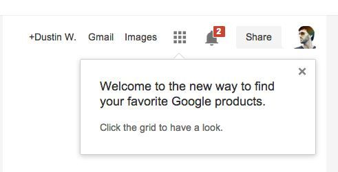 new google product toolbar