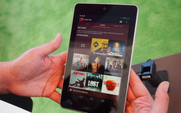 Nexus 7 populairder met de feestdagen dan de iPad