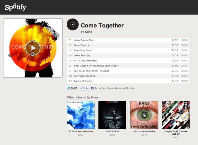Nieuwe album Kane nu te beluisteren via Spotify en hier op Dutchcowboys