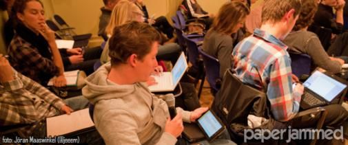 Nieuwe editie Paperjammed: Campagnes of strategie voor social media?