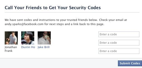Nieuwe Facebook security opties