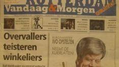 """Nieuwe gratis krant """"doordrenkt van het Rotterdamgevoel""""."""