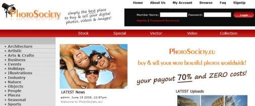 Nieuwe online marktplaats voor foto's
