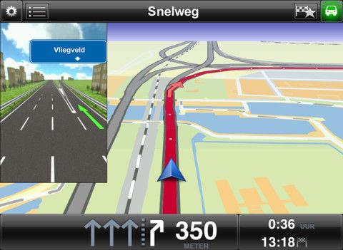 Nieuwe versie TomTom nu ook beschikbaar voor de iPad