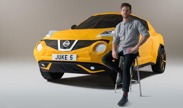 Nissan-juke-origami