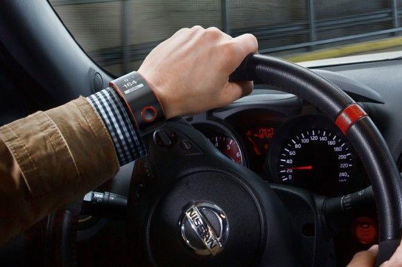 Nissan komt met smartwatch voor in de auto