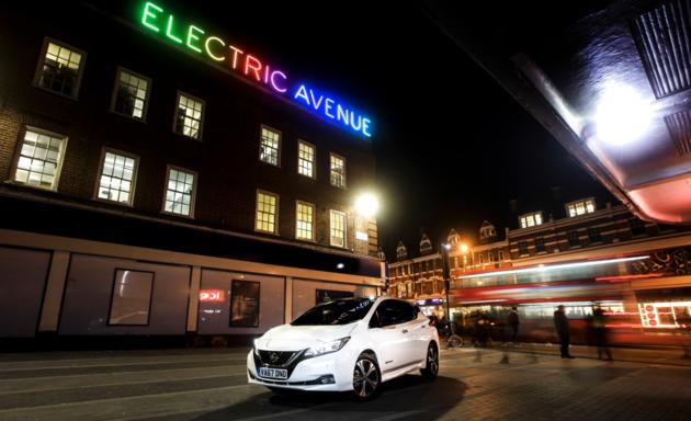 Nissan Leaf Electric avenue
