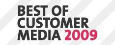 Nominaties Best of Customer Media 2009 bekend