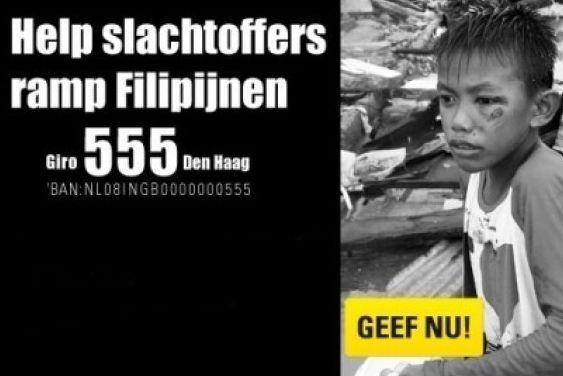 NPO heeft vandaag Nationale actie Filipijnen #Giro555