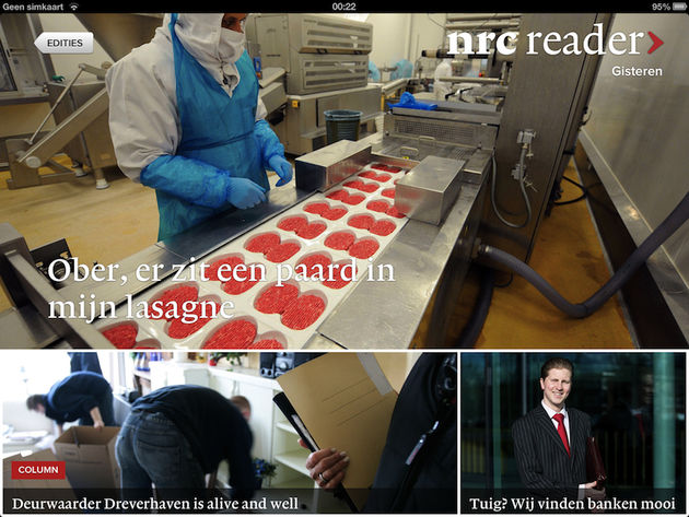 NRC Reader: experiment of succesformule?