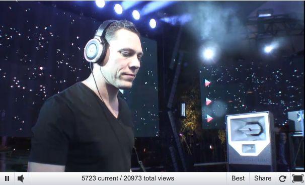 NU LIVE : Dj Tiësto speelt eerste live-set ooit op Twitter