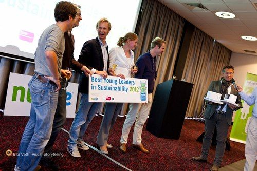 Nudge maakt 'Best Young Leaders in Sustainability 2012' bekend