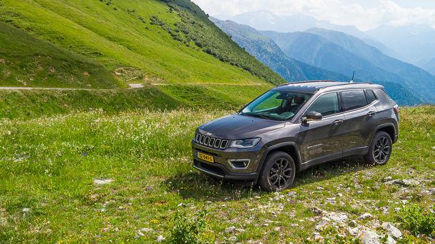 Off-road in Franse Alpen